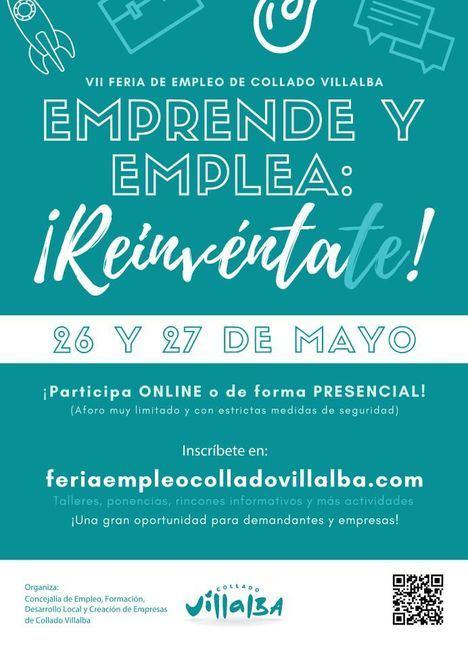 La VII Feria del Empleo de Collado Villalba ofertará los días 26 y 27 de mayo más de 200 puestos de trabajo