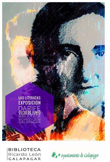 'Las literatas', de David Rivas, en la Biblioteca Ricardo León de Galapagar durante junio