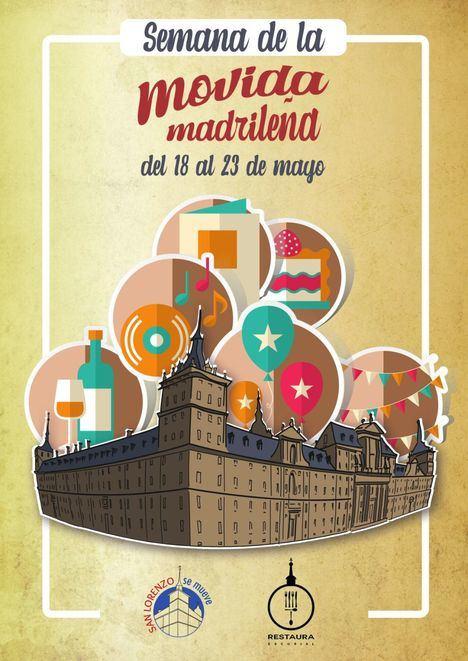 San Lorenzo de El Escorial celebra la I Semana de la Movida Madrileña