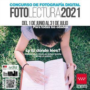 Las Bibliotecas de Torrelodones participan en una nueva edición del concurso fotográfico Fotolectura
