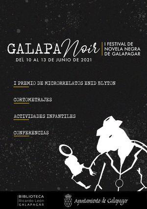 Galapagar organiza su primer Festival de Novela Negra, GalapaNoir