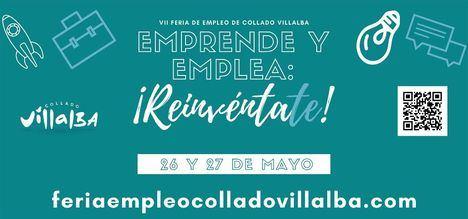 La Feria Emprende y Emplea de Collado Villalba se reinventa en su edición de 2021, que se celebra los días 26 y 27 de mayo