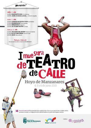 La actividad cultural sale al encuentro del espectador en la primera Muestra de Teatro de Calle de Hoyo de Manzanares