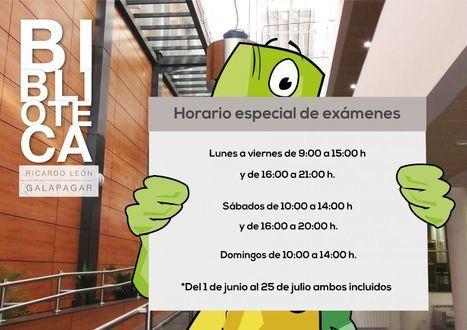 La Biblioteca Ricardo León de Galapagar amplía su horario con motivo de la época de exámenes