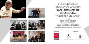 El I Concurso de Música de Cámara de San Lorenzo de El Escorial ya tiene finalistas