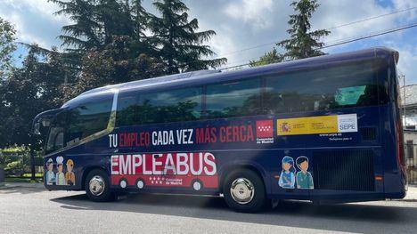 El 'Empleabus' dará servicio a El Escorial todos los miércoles desde esta semana