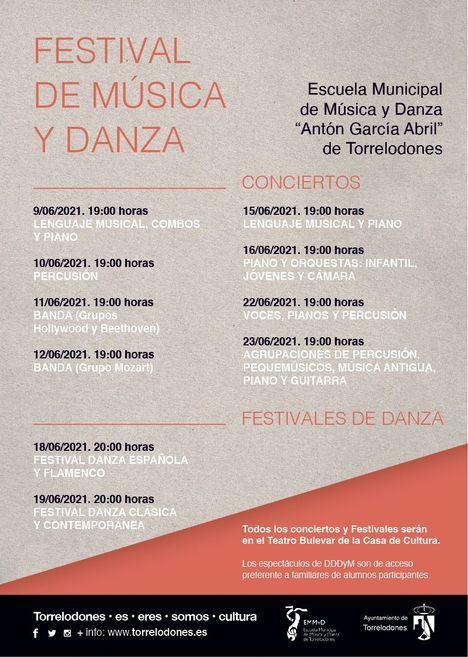 La música y la danza, protagonistas de la actividad cultural durante el mes de junio en Torrelodones