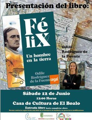 Odile, la hija de Félix Rodríguez de la Fuente, presenta la biografía de su padre en El Boalo