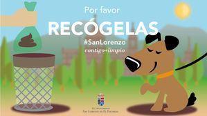 San Lorenzo refuerza su campaña contra los excrementos caninos con un nuevo parque y 50 sanecanes