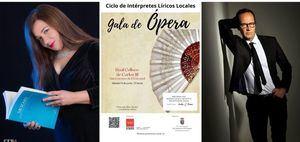 Este sábado, Gala de Ópera dentro del Ciclo de Intérpretes Líricos de San Lorenzo de El Escorial