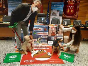 Collado Villalba busca 'Perros con dueños responsables' en su nueva campaña de concienciación