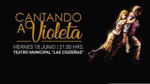 El Teatro Las Cigüeñas de Hoyo de Manzanares acoge el espectáculo 'Homenaje a la mujer: Cantando a Violeta'