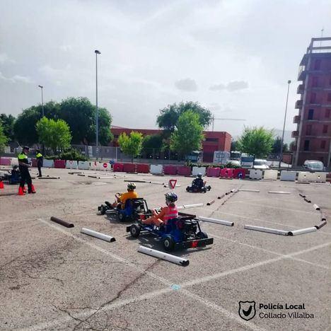 El Programa de Educación Vial en los colegios de Collado Villalba cierra el curso con un Campeonato