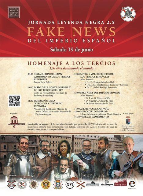 San Lorenzo de El Escorial acoge este sábado una Jornada sobre la Leyenda Negra