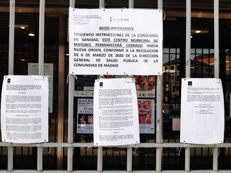 La Comunidad de Madrid abrirá desde el 21 de junio los centros de mayores, con cita previa