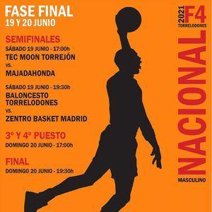 El Baloncesto Torrelodones juega este fin de semana la Final Four de 1ª Nacional Masculina