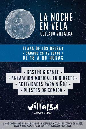 Collado Villalba da la bienvenida al verano con el evento 'La Noche en Vela'