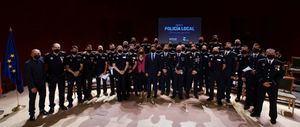 La Policía Local otorga su medalla a los vecinos de Las Rozas por su comportamiento ejemplar durante la pandemia