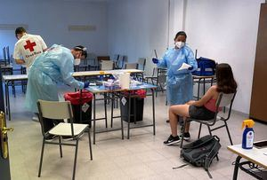 La Comunidad de Madrid realizará test de antígenos a los participantes en sus campamentos de verano