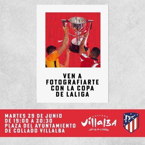 El Atlético de Madrid traerá a Collado Villalba este martes, 29 de junio, la Copa de la Liga