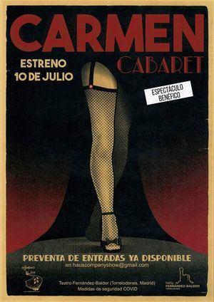 El Teatro Fernández Baldor de Torrelodones acoge el espectáculo benéfico 'Carmen Cabaret'