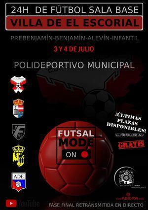 El Escorial organiza la I Edición del Torneo 24 Horas de Fútbol Sala