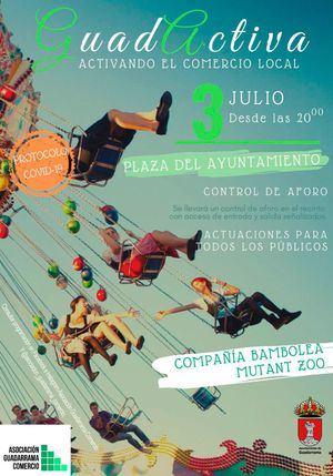 Guadarrama celebra una nueva edición de 'Guadactiva', el mercado de noche del comercio local