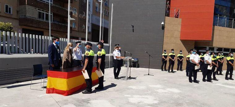 La Policía Local de Collado Vilallba celebra su Día con un acto en el que se han entregado diversas medallas y reconocimientos