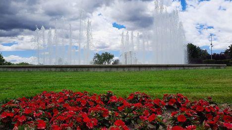 San Lorenzo de El Escorial pone en funcionamiento todas las fuentes ornamentales del municipio