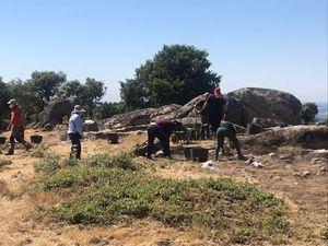 Finalizadas las excavaciones, Hoyo celebrará una Jornada de Puertas Abiertas en el yacimiento de La Cabilda