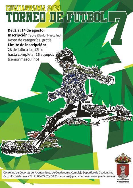 Guadarrama abre la inscripción para los torneos de verano de Fútbol Sala y Fútbol 7