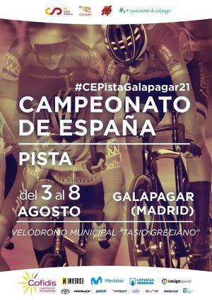 El Velódromo de Galapagar será la sede del Campeonato de España de Pista 2021