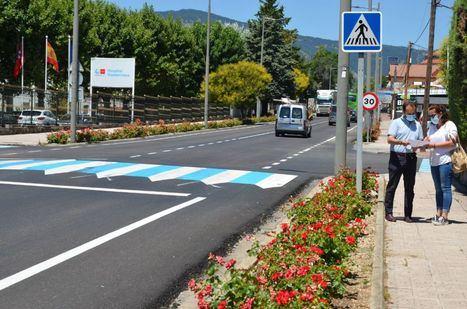 Recepcionadas las obras de asfaltado y acondicionamiento de varias calles de Guadarrama
