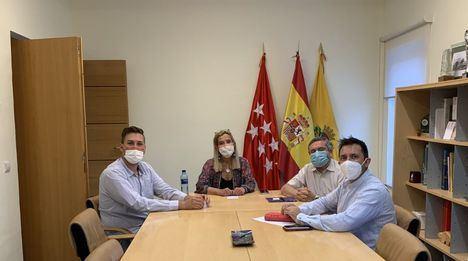Encuentro entre la alcaldesa de Collado Villalba y el nuevo director general de Musashi Spain Villalba