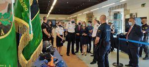 La Policía Nacional expone en la Casa de Cultura de San Lorenzo de El Escorial sus últimos avances en transformación digital