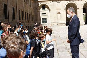 Su Majestad el Rey entrega en San Lorenzo de El Escorial el Premio de Historia Órdenes Españolas