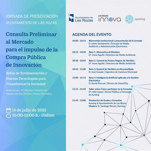 Las Rozas invita a empresas tecnológicas a participar en su Estrategia de Innovación para resolver los retos de la ciudad