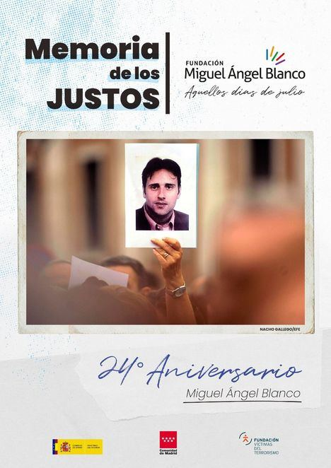 Collado Villalba rinde homenaje a a Miguel Ángel Blanco este sábado en el ágora de la Biblioteca Miguel Hernández