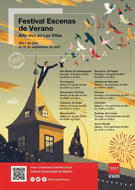 Las plazas de las Once Villas de la Comunidad de Madrid se llenan de arte contemporáneo