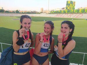 El Club de Atletismo las Ardillas de El Escorial se lleva ocho medallas del Campeonato de Madrid