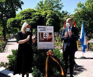 Majadahonda muestra su compromiso con las víctimas del terrorismo en el homenaje a Miguel Ángel Blanco