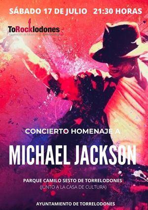 Los mejores músicos de Torrelodones se unen para rendir homenaje a Michael Jackson