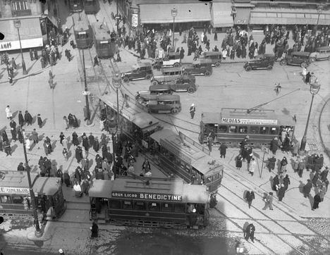 Ya se puede visitar la exposición 'Yo me bajo en la próxima. 150 años del primer tranvía en Madrid'