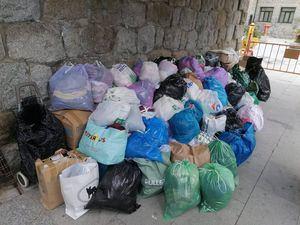 Guadarrama se vuelca con el reciclaje de ropa, superando las 20 toneladas en el primer semestre del año