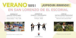 San Lorenzo de El Escorial celebra el Día de los Abuelos con diferentes actividades
