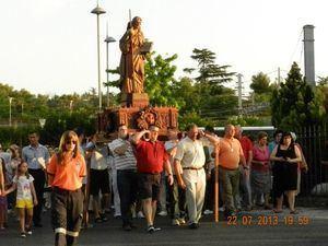 La música protagoniza la celebración en Collado Villalba de las Fiestas de Santiago Apóstol