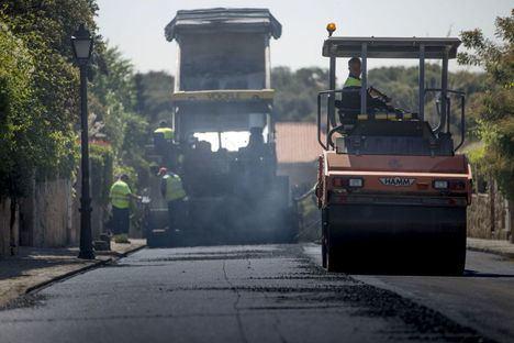 Las Rozas acometerá la mayor operación asfalto de su historia en las próximas semanas
