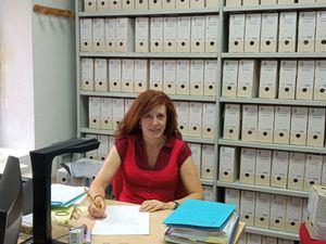 Pilar García, archivera de Hoyo de Manzanares
