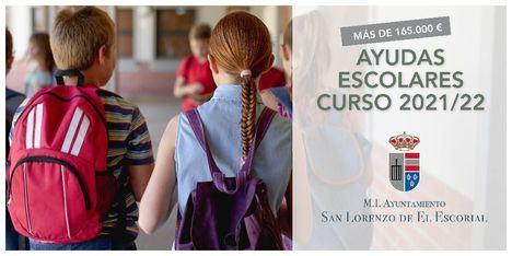 San Lorenzo de El Escorial comienza a entregar las ayudas escolares a las familias