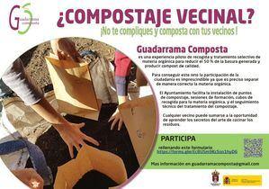 En marcha una nueva fase de Guadarrama Composta con el inicio del compostaje comunitario